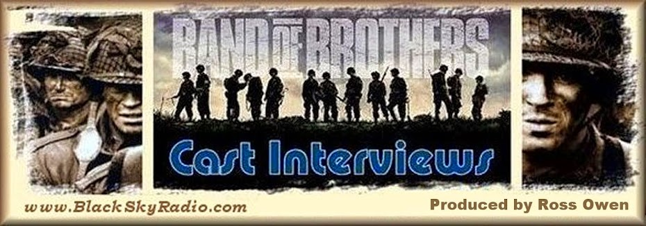 Ross Owen's Band Of Brothers CAST INTERVIEWS on Black Sky Radio