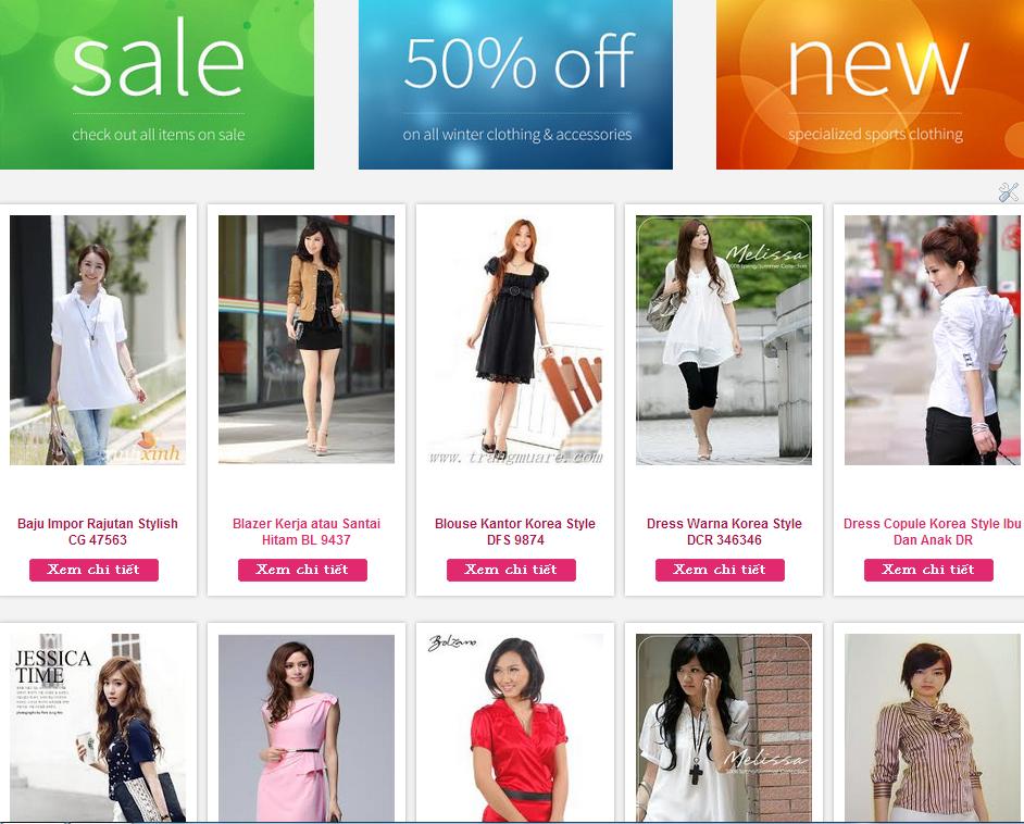 Template Blogspot Bán Hàng Shop Thời Trang Nữ