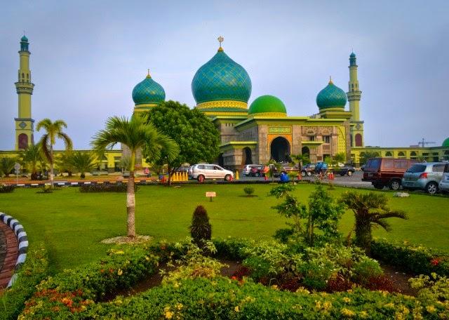 Masjid Agung An-nur – Pekanbaru, Riau