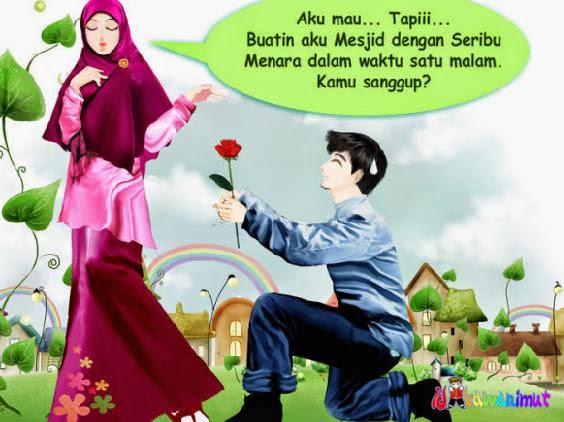 Kumpulan Gambar Kartun Cantik Islami Lucu