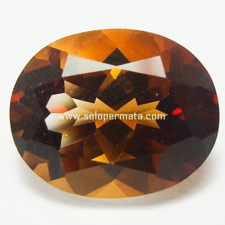 Batu Permata Sherry Topaz - Sp022 + Memo