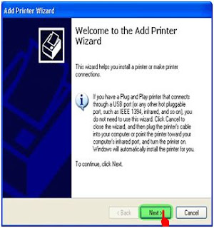 Gambar Add Printer Wizard