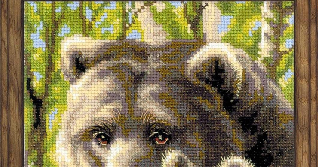 Вышивка медведи риолис