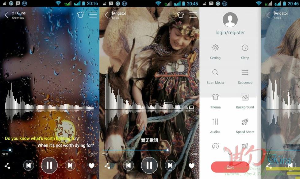 Wd-Kira, aplikasi android, Download Pemutar Musik Terbaik Untuk Android Terbaru, Free download pemutar music terbaik untuk android terbaru, free download ttpod terbaru 2014