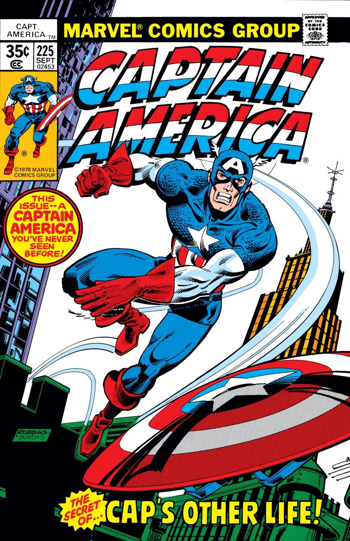 Captain America (1968) Issue #225 #139 - English 1