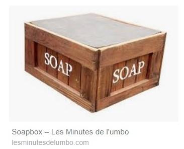 SOAPBOX N° 132, 133, 134, Feuillets de l'umbo, MAI 2019