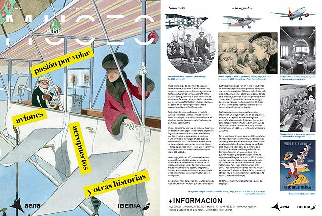 Exposición en Madrid, Pasión por volar