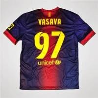 Nike FC Barcelona Typeface 2013