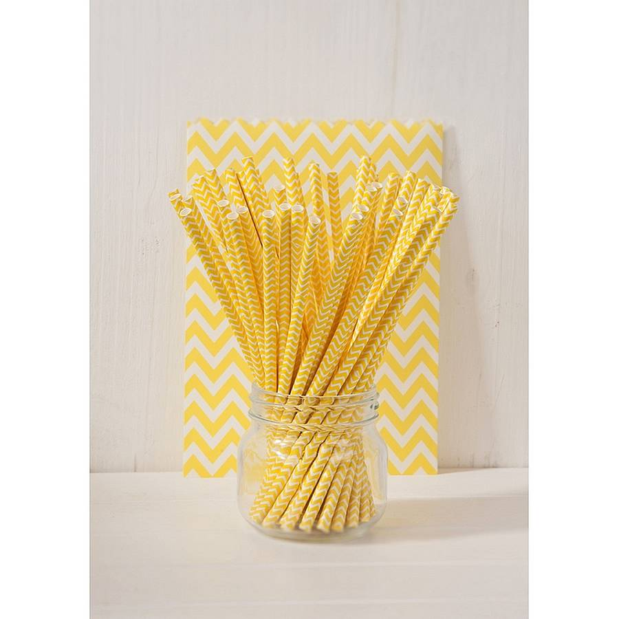 yellow straws