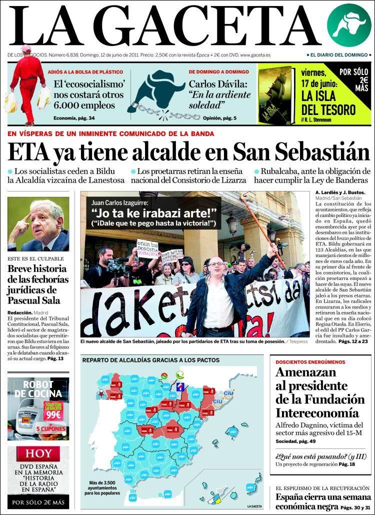 Periodismo al pil pil eta ya tiene alcalde en san for Funcion de un vivero escolar