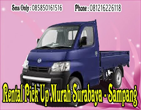 Rental Pick Up Murah Surabaya - Sampang