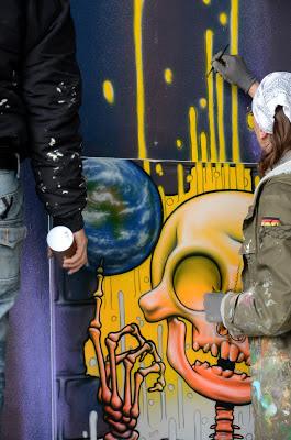 livingwalls- missingart in frankfurt
