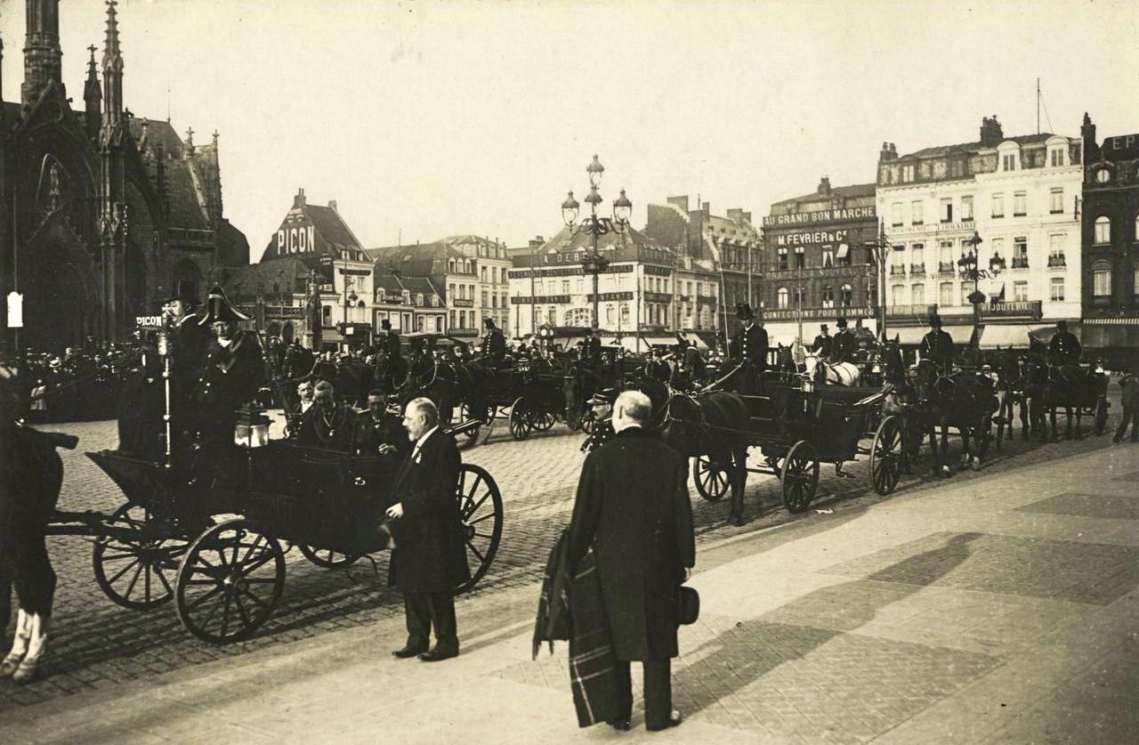 2011 centenaire de l 39 exposition internationale de roubaix en 1911 - Place du travail roubaix ...
