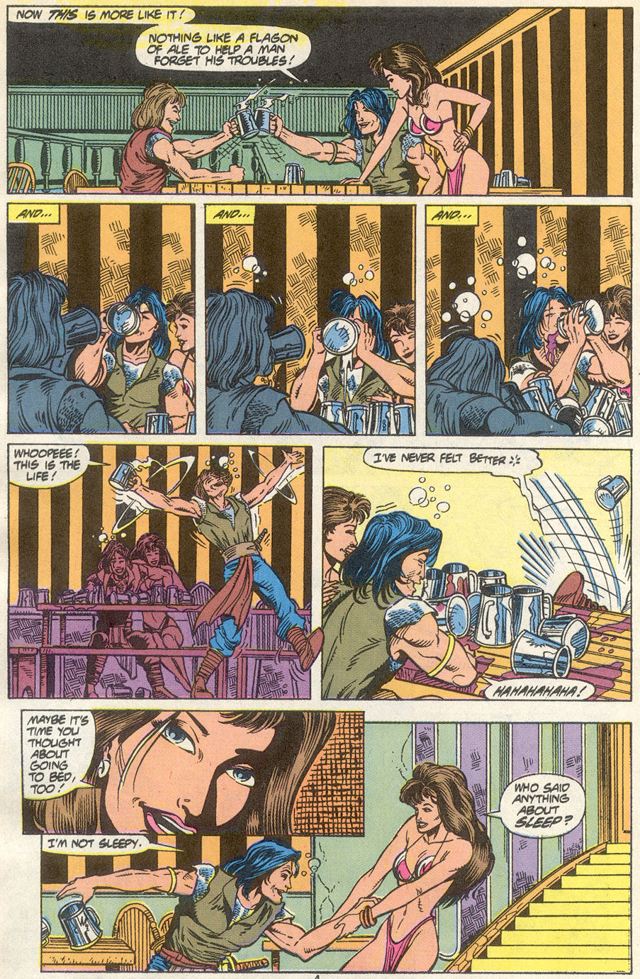 Conan the Barbarian (1970) Issue #234 #246 - English 5