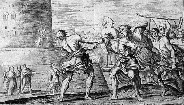 a discussion on the trojan war as the fault of gods