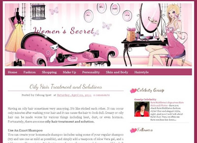 womens-secret-fashion-blogger-theme