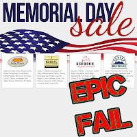 Furniture Row EPIC FAIL: Flag Desecration
