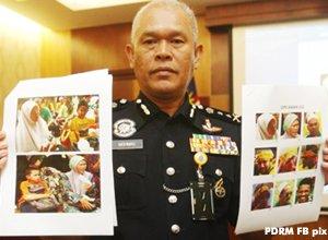 Contoh kerja BAHALOL Polis Diraja Malaysia, cari pembawa kanak-kanak di Himpunan Kebangkitan Rakyat, 12 Januari 2013