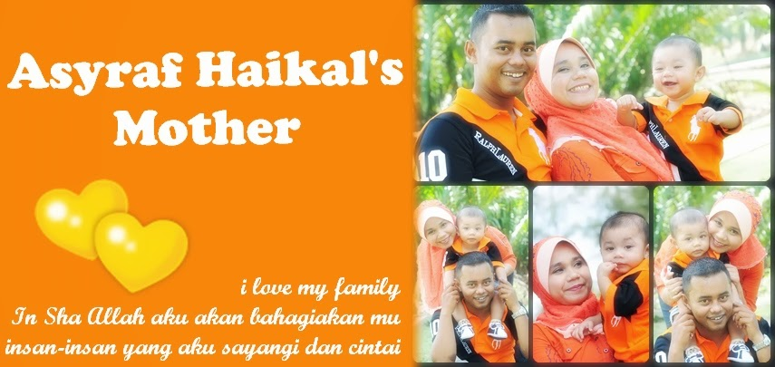 asyraf haikal's mother