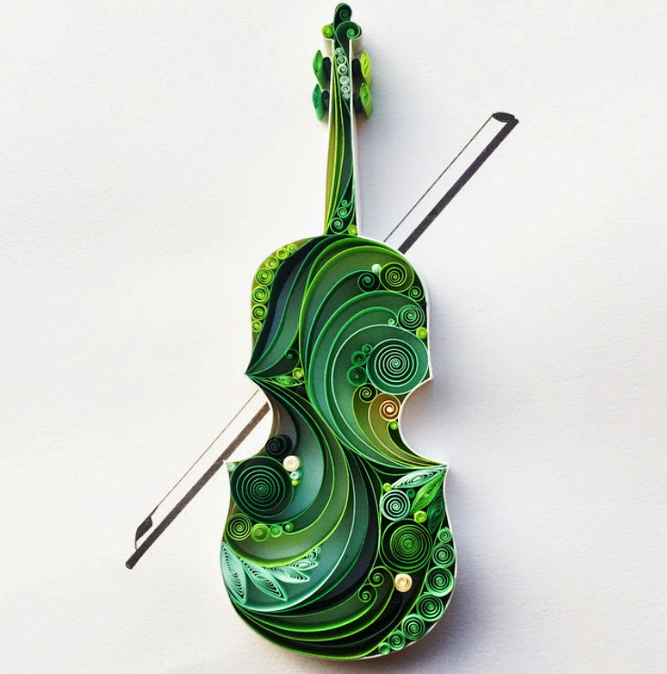 03-Violin-Sena-Runa-Drawing-and-Quilling-a-match-made-in-Heaven-www-designstack-co