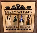 EARLY WITCHES : 2014 halloween mystery sal