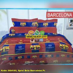 Harga Sprei Bola Barcelona Fc Jual