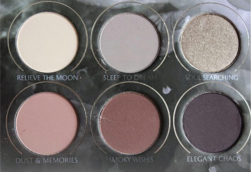 Zoeva Smoky Eyeshadow Palette