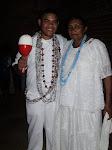Mestre Diêgo Ferreira e Mãe Toinha Severo