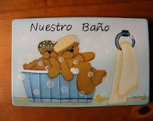 Letrero para Baño