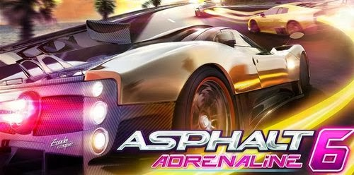 Asphalt 6 Adrenaline WVGA APK DATA SD