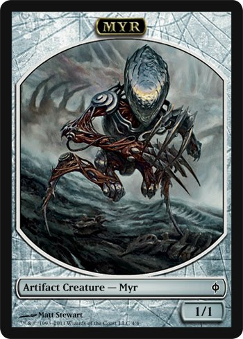 C.O.W. #264. Mirrodin Tangle Stalker - WIPs Thread