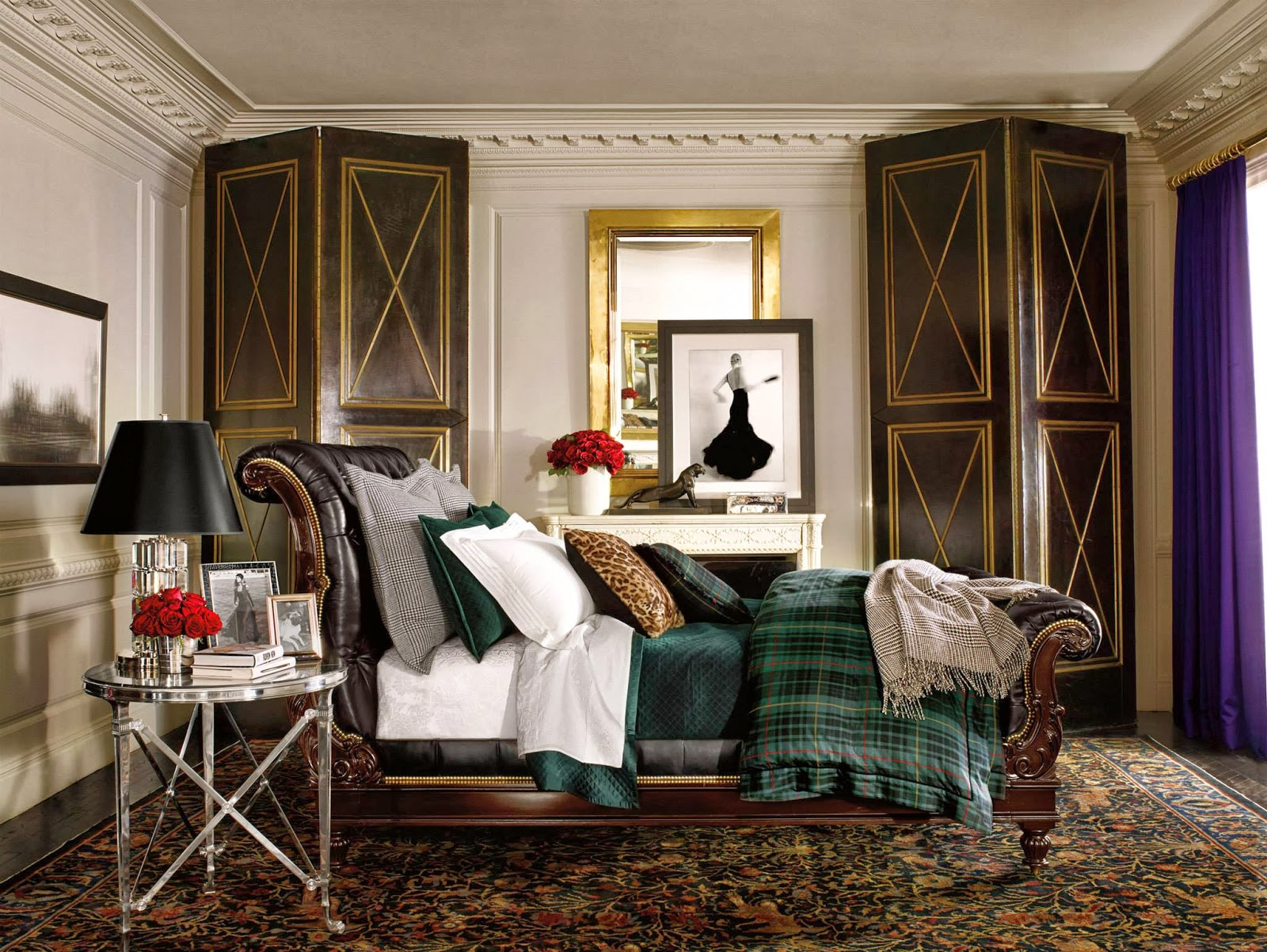 ralph lauren home apartment no one provocative woman. Black Bedroom Furniture Sets. Home Design Ideas