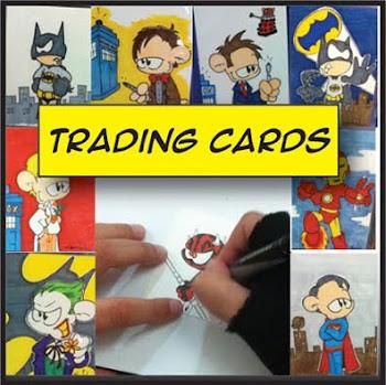 Original Trading Cards by Sketch
