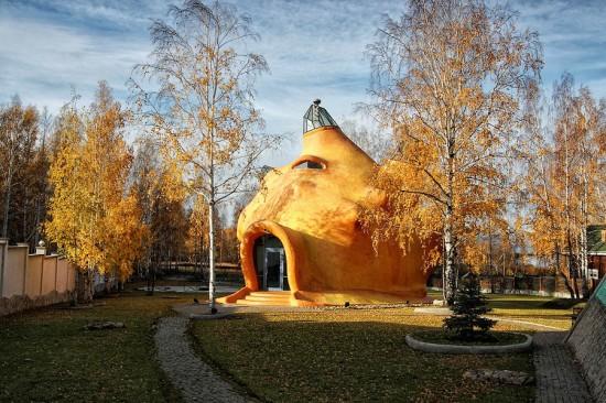 alitampouras.blogspot.gr - Ένα σπίτι σε σχήμα κοχυλιού!
