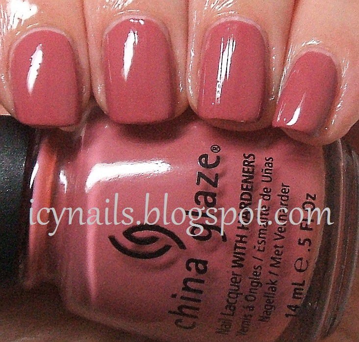 China Glaze Fifth Avenue: Swatch and Review - Notes from My Dressing ...
