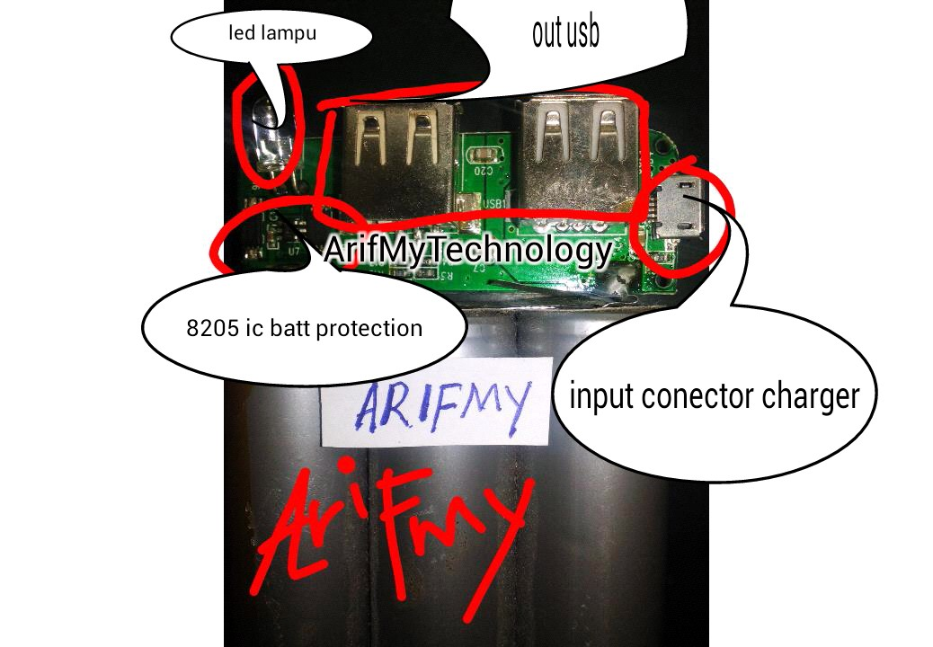 How To Repair Power Bank Arifmytechnology
