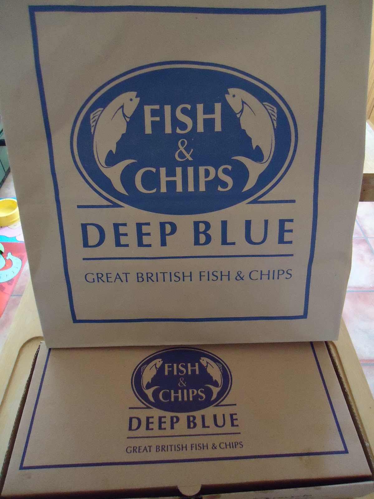 Deep Blue Fish and Chips
