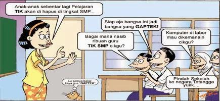 Kegelisahan dan solusi untuk guru TIK