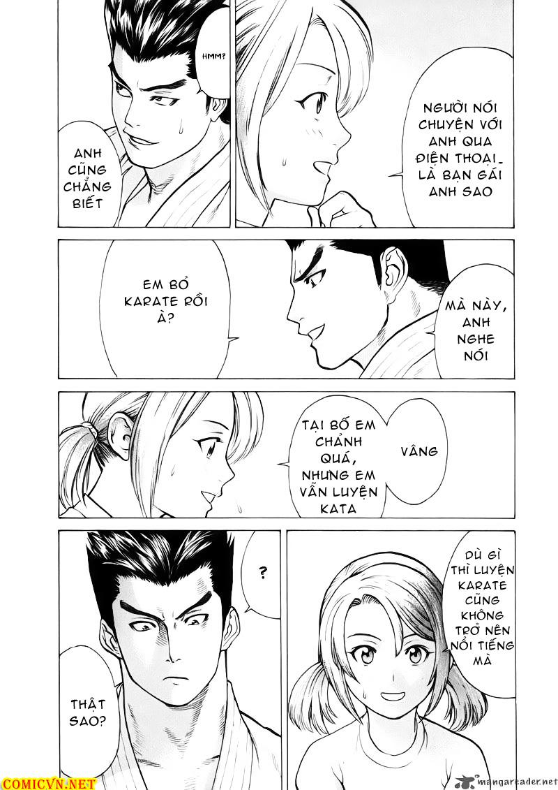 Karate Shoukoushi Kohinata Minoru chap 44 Trang 15
