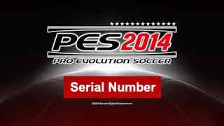 Kode Penginstalan Serial Number PES 2014