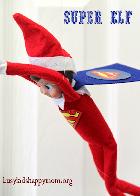 Most Popular Super Elf! Ideas for Christmas Fun with your Elf-on-the-Shelf