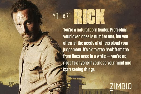 The Walking Dead: Which Character Are You?