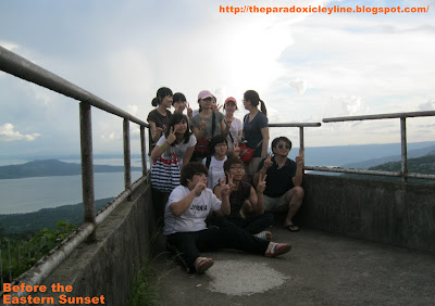 People's Park Tagaytay - foreign tourists