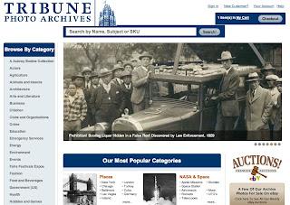 TribunePhotos.com Original Newspaper Archive Photographs