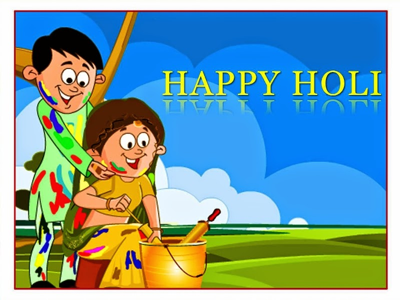 Holi Couple Wallpaper Images in HD