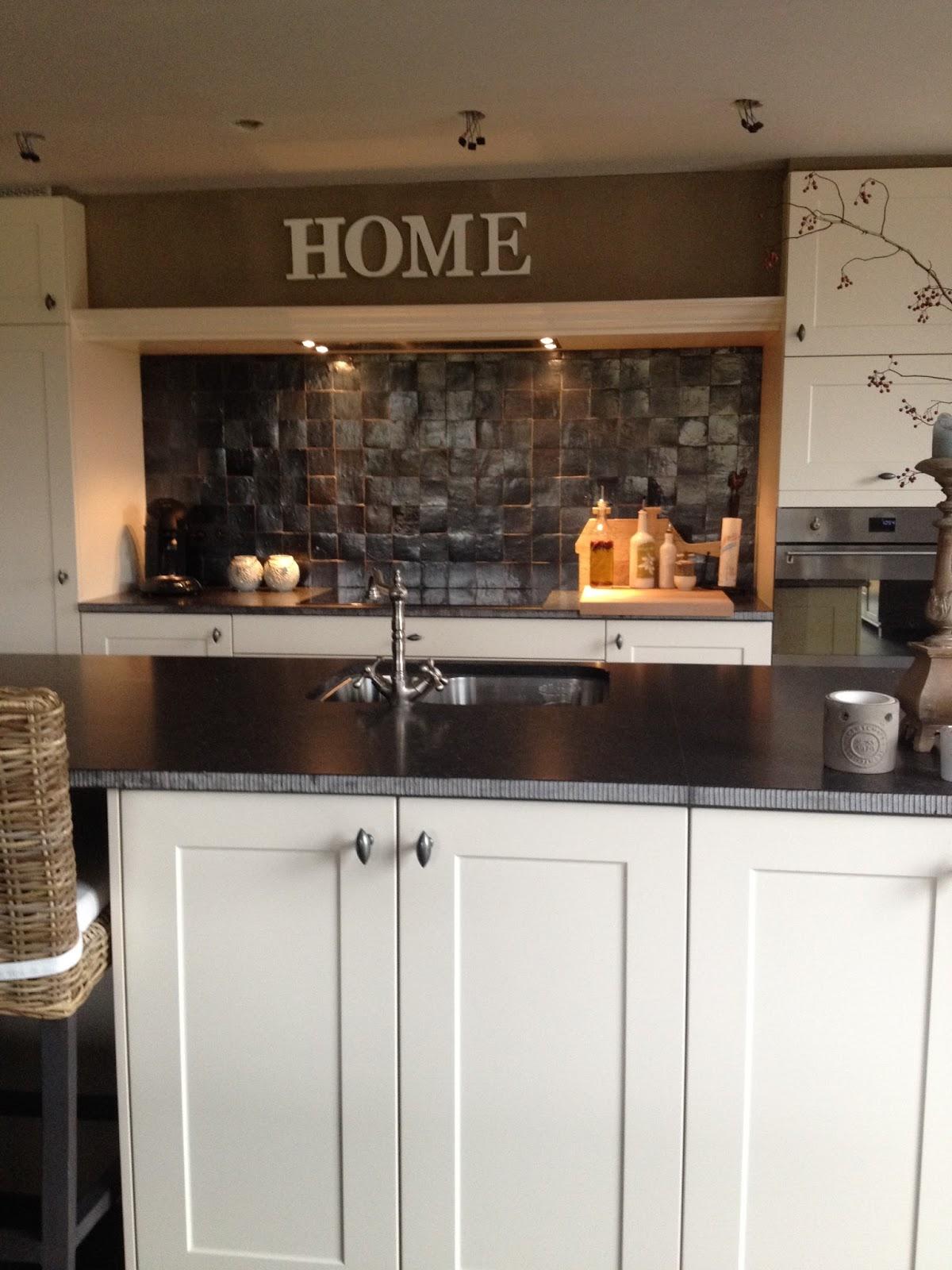 keuken wandtegels zonder voeg : Thuis Is Waar Zelliges