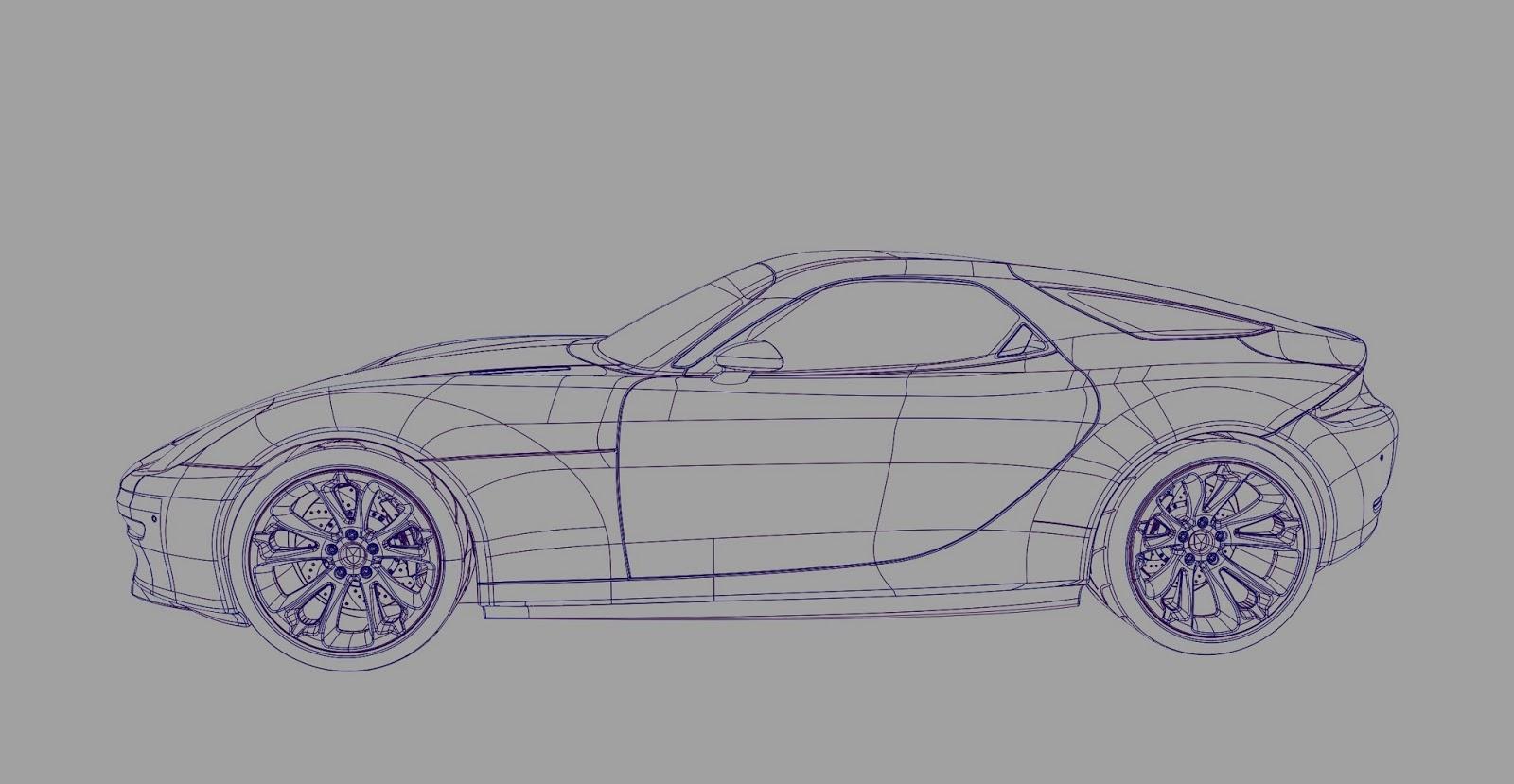 Landspeed Blog Porsche 921 Vision Final Cad Model