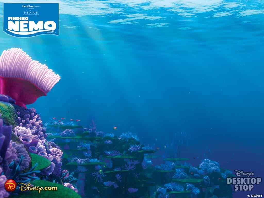 Finding Nemo HD 3d Cartoon Wallpaper