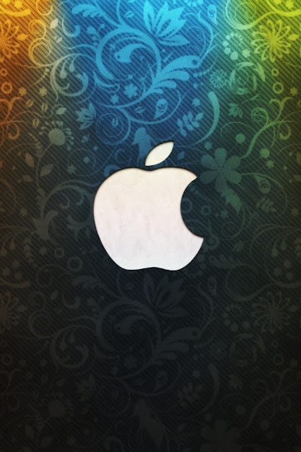 Beautiful Apple Logo Design iPhone Wallpaper By TipTechNews.com
