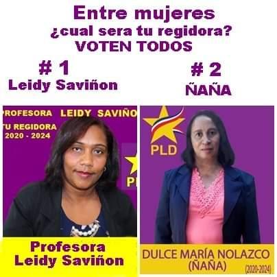 Naña y Leidys, dos mujeres regidoras diferente para legislar,en tu ayuntamiento